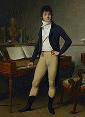 Boieldieu mit Büste von Gluck, ca.1800 (Louis-Léopold Boilly) (Quelle: Wikimedia)