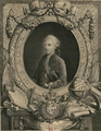 Louis Auguste of France (future Louis XVI) as Dauphin by an unknown artist with arms.png