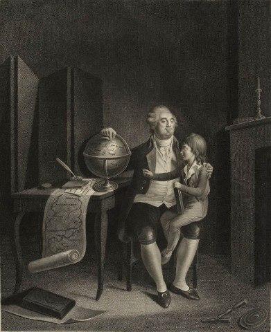 Louis XVI au Temple, Musée de la Révolution française - Vizille
