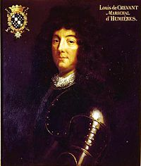 Louis de Crevant, maréchal d'Humières, Grand Maitre de l'Artillerie (1685-1694).jpg