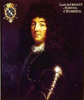 Louis de Crevant, Duke of Humières Marshal of France