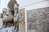 Khorsabad - Human Headed Winged Bulls and Reliefs