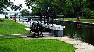 Tay Canal - Lower Beveridges Lock