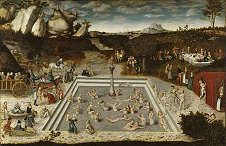 Fountain of Youth - The ''Fountain of Youth'', 1546 painting by Lucas Cranach the Elder.