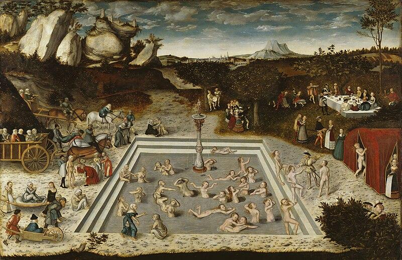 Datei:Lucas Cranach - Der Jungbrunnen (Gemäldegalerie Berlin).jpg