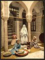 Luce Ben Aben, Moorish women preparing couscous, Algiers, Algeria-LCCN2001697843.jpg