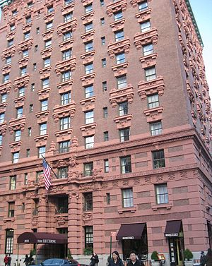 79th Street (Manhattan) - Lucerne Apartments, 201 West 79th Street, at Amsterdam Avenue (Harry B. Mulliken, architect, as Hotel Lucerne, 1903–04)