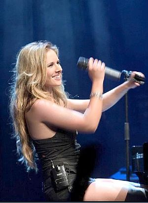 Lucie Silvas - Silvas on the Breathe In tour in The Netherlands, 2006