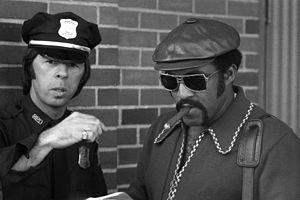Luis Tiant - Tiant outside Fenway Park, 1970s
