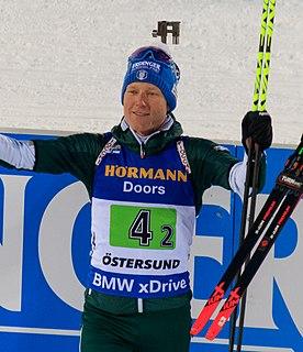 Lukas Hofer Italian biathlete