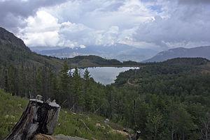 Peshkopi - Image: Lurë National Park Liqeni i Madh