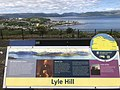 Lyle Hill viewfinder, Courock and Cowal.jpg