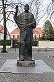 Münster, Skulptur -Clemens August Graf von Galen- -- 2014 -- 6922.jpg