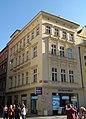 Měšťanský dům U zlatého velblouda, U zlatého jednorožce (Staré Město), Praha 1, Staroměstské nám., Železná 21, Staré Město.JPG