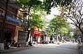 Một phần phố Quang Trung, đoạn gần ngã tư phố Quang Trung giao với phố Nguyễn Văn Tố và phố Canh Nông, thành phố Hải Dương, tỉnh Hải Dương.jpg