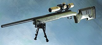 Sniper rifle - The 7.62×51mm M40, United States Marine Corps standard-issue sniper rifle
