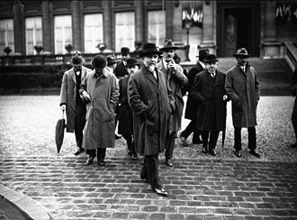 Incident at Petrich - The Greek ambassador to France, Karapanos, during the discussions at the League of Nations over the Greco-Bulgarian conflict in 1925