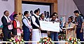 M. Venkaiah Naidu giving away Certificates and Grants to Students after launching Deen Dayal Divyangjan Sahajya Achoni, on the occasion of International Day of Persons with Disabilities, in Guwahati, Assam (1).jpg