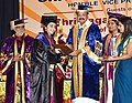 M. Venkaiah Naidu presenting the medals and degrees to the Students, at the 8th Convocation of the Postgraduate Institute of Medical Education and Research, Dr. Ram Manohar Lohia Hospital, in New Delhi (2).JPG