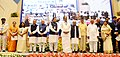 M. Venkaiah Naidu rewarded with performance incentive for promoting urban reforms under Atal Mission for Rejuvenation and Urban Transformation (AMRUT) during 2015-16, at a function, in New Delhi (4).jpg