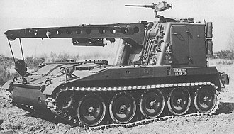 M578 light recovery vehicle - An early US Army M578, circa 1965.