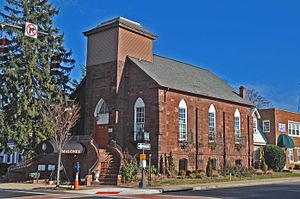 My Son John - Church in Manassas, Virginia, featured in the film