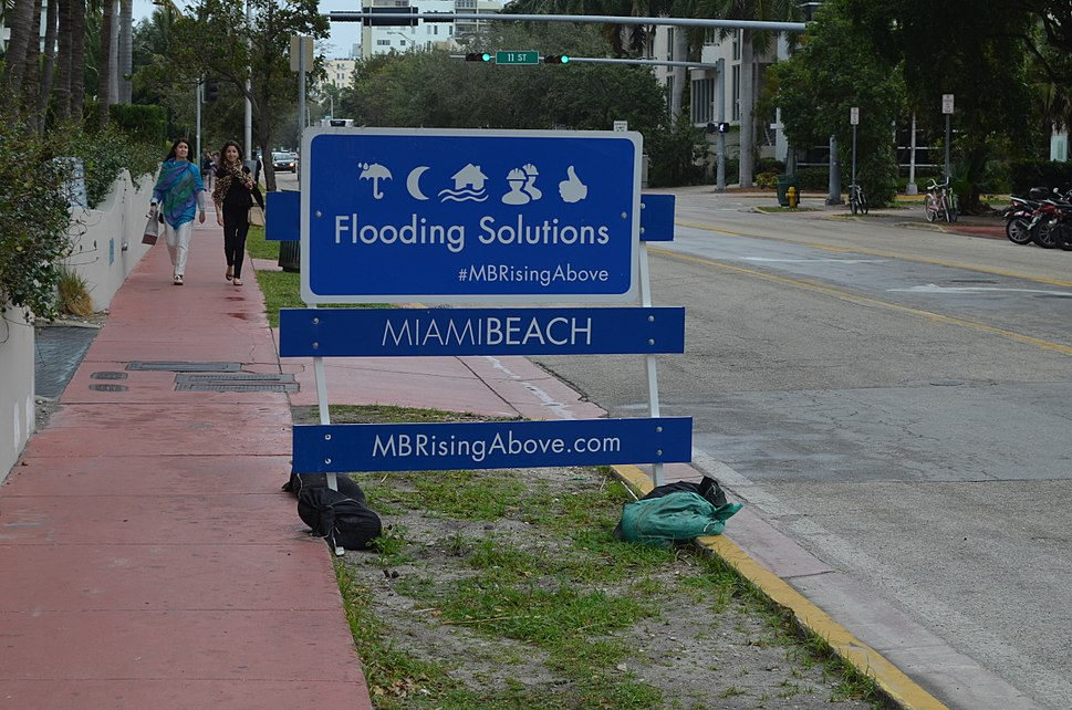 MB Rising Above sign