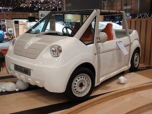 Motor Development International - MDI OneFlowAir at the 2009 Geneva Motor Show