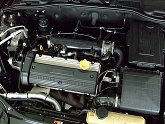 Rover K-series engine - Image: MG 7 black 2008 engine
