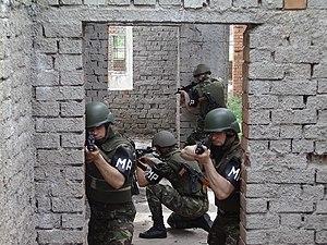 Romanian Military Police - Romanian MP training.