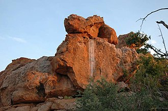 Kingdom of Mapungubwe - Image: MNP Sandstone