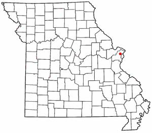 Berkeley, Missouri - Map of Berkeley