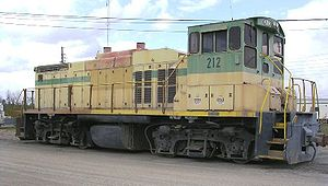 Switcher - A modern US switcher, an EMD MP15DC
