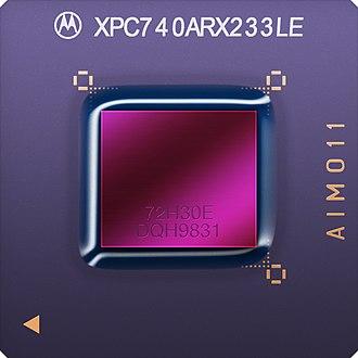 PowerPC 7xx - Image: MPC740
