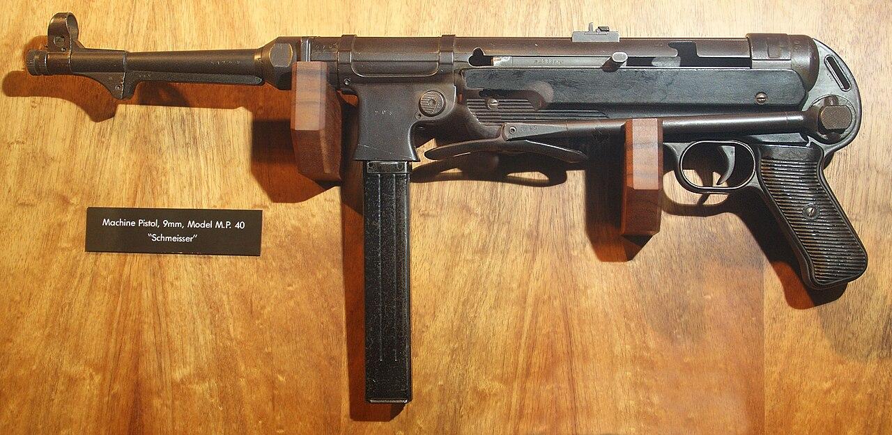 machine pistol 40