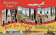 MacDill Field Postcard