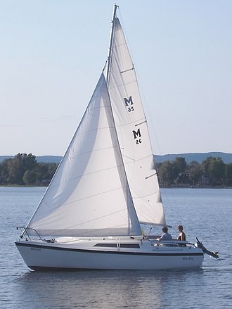 MacGregor 26 - Image: Mac Gregor 26 sailboat 2526