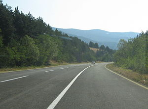 Transport in the Republic of Macedonia - A-5 near Resen