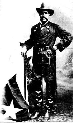 Antonio Maceo Grajales - Maceo in uniform