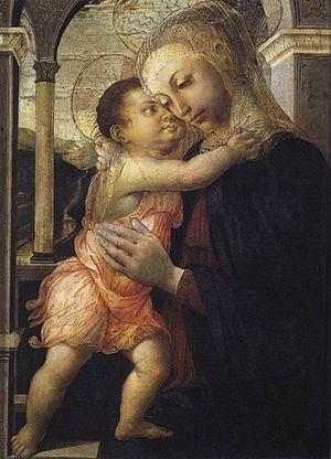 Madonna della Loggia (Botticelli) - Image: Madonna Loggia Botticelli