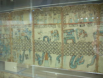 Maya codices - Rain-bringing snakes, Madrid Codex