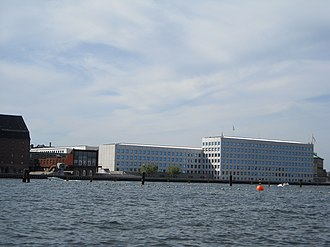 Mærsk Mc-Kinney Møller - A.P. Møller – Mærsk headquarters at Nordre Toldbod in  Copenhagen harbour