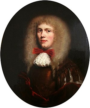 Nicolaes Maes - Portrait of a man in a wig (1660s) Oil on panel, 35.5 x 26.4 cm. National Museum, Warsaw