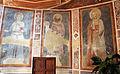 Maestro espressionista di santa chiara (forse palmerino di guido), storie francescane, 1290-1310 circa, santi 01.JPG