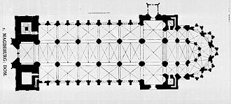 Magdeburg Cathedral - Plan of Magdeburg Cathedral