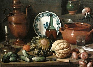Still life with a copper jug