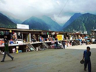 Reckong Peo - Main street, Reckong Peo, 2010