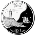 Maine quarter, reverse side, 2003.png