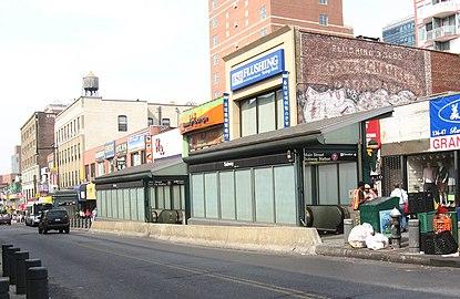フラッシング メイン ストリート駅 irtフラッシング線 wikipedia