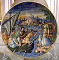 Maiolica di urbino, circe e i compagni di ulisse, 1550-1574.jpg